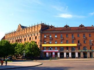 Отель «Украина» в Луганске
