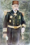 Another example of Westernization: Adil Pasha, an admiral in the Imperial Ottoman Navy in typical Western naval dress uniform.