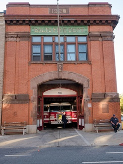 Engine Company 2, 800 Light Street, October 2015