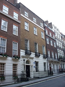 10 Hertford Street, London W1, Burgoyne's home in later life