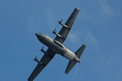 C130 Hercules as operated by the 4409th Support Squadron