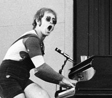 Elton John was one of the most commercially successful solo pop acts of the 1970s