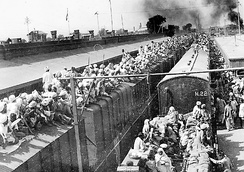 About 14.5 million people lost their homes as a result of the partition of India in 1947.