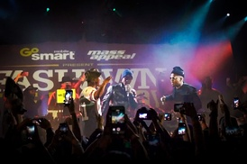 Fashawn is joined by Nas and Aloe Blacc during The Ecology album release concert in Los Angeles.