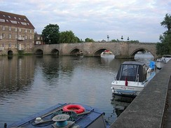 The Great Ouse at Huntingdon