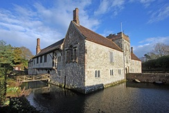 Ightham Mote is in Tonbridge and Malling