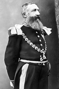 Leopold II, King of the Belgians and de facto owner of the Congo Free State from 1885 to 1908