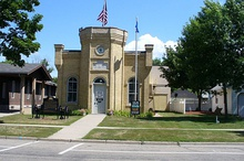 Grand Army of the Republic Hall in Litchfield, Minnesota.