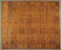 Mamluk Wool Carpet, Egypt, circa 1500-1550