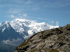 August 8: Mont Blanc climbed for the first time.