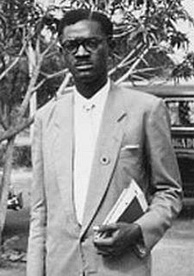 Patrice Lumumba, first democratically elected Prime Minister of the Republic of the Congo (Léopoldville)