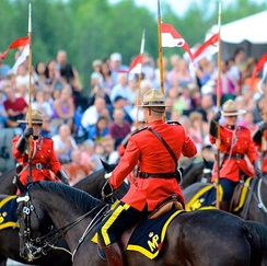 Royal Canadian Mounted Police (RCMP) Sunset Ceremony 2012