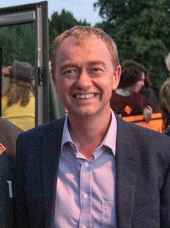 Farron the day before the 2017 General Election