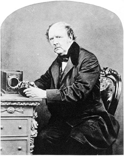 William Henry Fox Talbot, by John Moffat, 1864