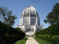 The Bahá'í House of Worship, Wilmette, Illinois.
