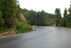 China National Highway 320 in Longling County