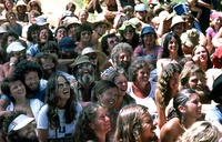 Hippies at the Nambassa 1981 Festival in New Zealand