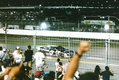 Dale Earnhardt at 1998 Pepsi 400
