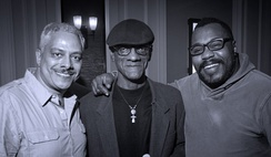 House music pioneers Alan King, Robert Williams and Derrick Carter.