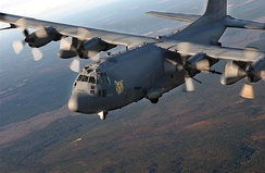 An AC-130U Spooky from the 4th Special Operations Squadron