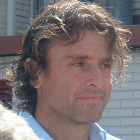 Full-back Amedeo Carboni, the foreigner with the most appearances (350).