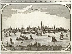By the mid-16th century, Antwerp was Europe's largest market town