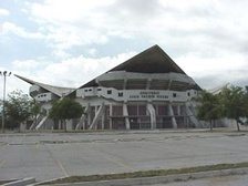 Juan Pachín Vicéns Auditorium, home to various sporting events in Ponce
