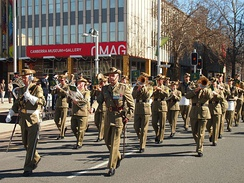 The Australian Army Band Corps, Canberra, 2013.