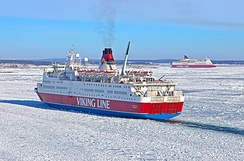 Traversing Baltic Sea and ice