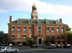 City Hall in Bellingham Square