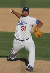 Jonathan Broxton's tenure with the Dodgers ended when he left as a free agent after the 2011 season