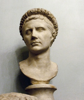 Augustus, the first Roman Emperor.