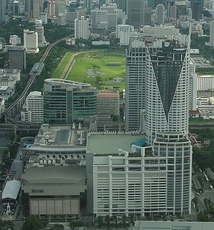 Centara Grand and Bangkok Convention Centre, in Bangkok, Thailand