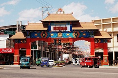Davao City's Chinatown is said to be the Philippines' biggest in terms of land area.