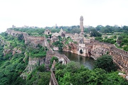 Chittor Fort is the largest fort on the Indian subcontinent; it is one of the six Hill Forts of Rajasthan.