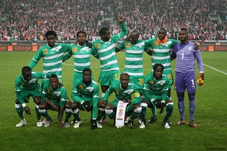 The Ivory Coast national football team