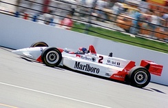 Emerson Fittipaldi driving the Penske PC-23 at the 1994 event