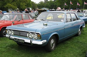 Ford Zodiac MkIV first registered November 1971 2994cc.JPG