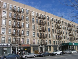 Rowhouse built for the African-American population of Harlem in the 1930s