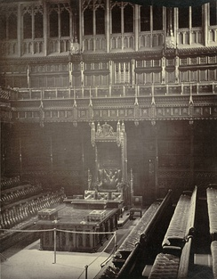 Whilst presiding, the Speaker sits in a chair at the front of the House