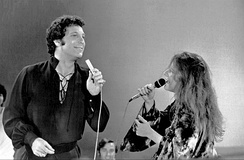 Jones duetting with Janis Joplin on the television programme This Is Tom Jones in 1969