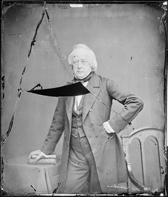 John Slidell, photograph by Mathew Brady