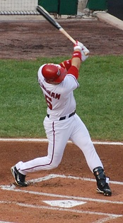 Willingham during his tenure with the Nationals in 2009.