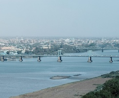 El Mek Nimr Bridge in Khartoum