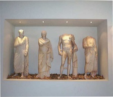 Exhibits at the Archaeological Museum of Kilkis