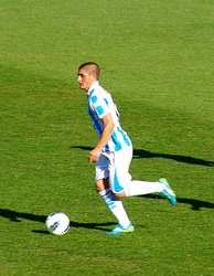 Verratti playing for Pescara in 2012