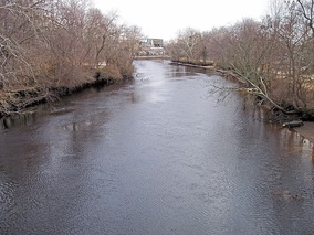 The Maurice River in Millville in 2006