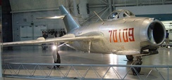 MiG-15 in National Air & Space Museum. Taken in April 2004.