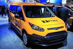 Ford Transit New York City's Taxi of Tomorrow.