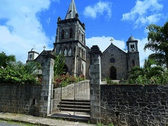Roseau Cathedral in Dominica